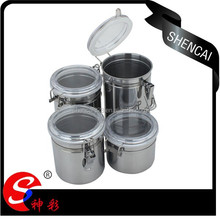 5 Inch Practical Stainless Steel Kitchen Canister Set/Canister Jar/ spice Jar