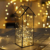 Christmas gifts indoor decoration hanging geometric glass terrarium for light or plant