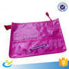 Direct factory price custom printing high quality children pink zipper pencil case