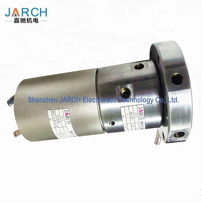 Air High Speed Rotary Union / Rotary Electrical Connector Pneumatic slip ring For Packaging Machine