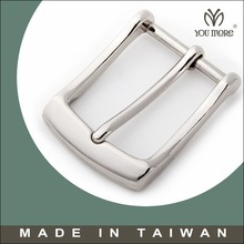 Elegant solid brass pin belt buckle made in Taiwan