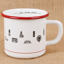 Different Capacity And Custom LOGO Printing, New Coming Enamelware Wholesale With Free Samples And Low MOQ