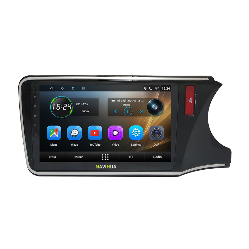 HD android car radio car dvd for HONDA CITY RHD touch screen with internet 3G WIFI