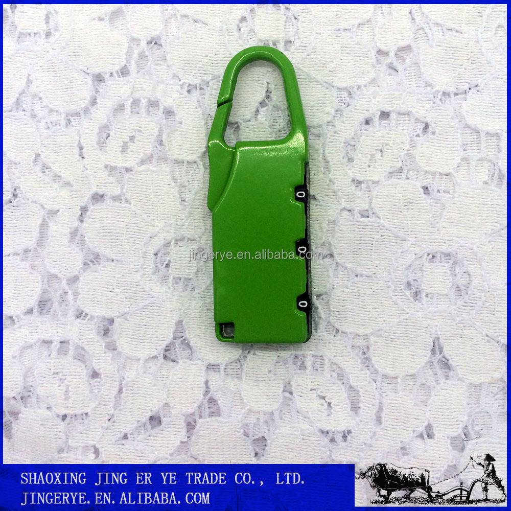 Colorful Metal Zinc Alloy 3 Dial Digital Bulk Padlocks