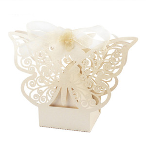 Candy Box Wedding Gift Butterfly Decorations for Wedding Candy Bag Gifts for Guests Favors Bags Event Party Supplies