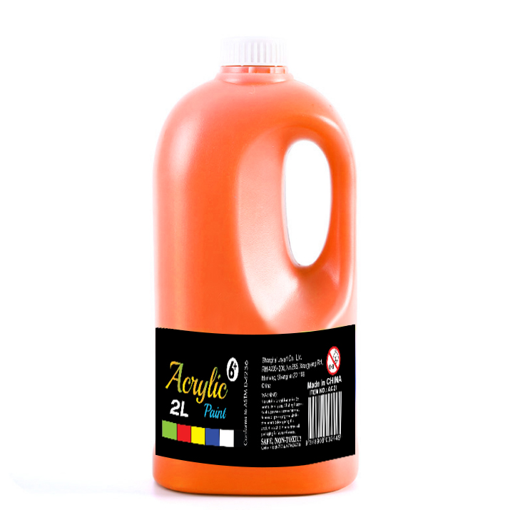 1/2 Gallon studio heavy bodied acrylic paint for large-scale paintings