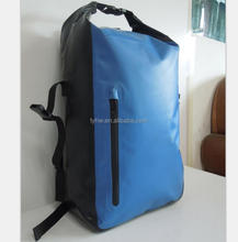 Hiking backpack beach boating swimming weekender backpack tarpaulin backpack
