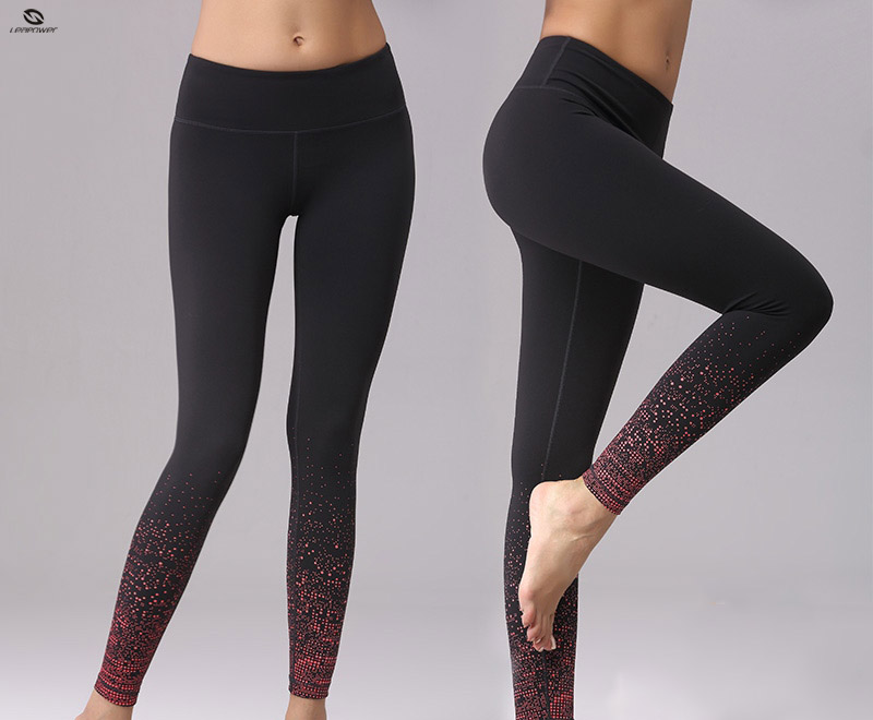 Custom Made Tight Woman Jogging Pants Seamless Yoga Pants Fluorescence Activewear Leggings