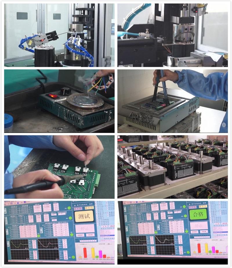 중국 좋은 판매 57HSE2N-D25 nema23 2N. M 폐쇄 루프 스테퍼 모터