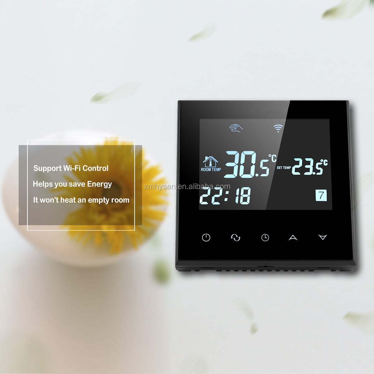 HY03WE-4-wifi Smart Heating Room Thermostats with WiFi Remote Control