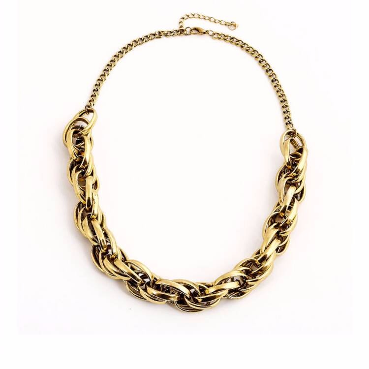 wholesale big chunky gold choker necklaces jewelry 2015