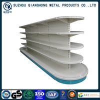 Half round head gondola supermarket shelf