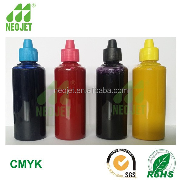 free sample hot heat transfer ink for epson tfp 5113 printhead inkjet printer fluo sublinmation ink