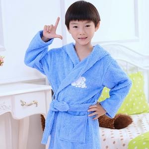 8bf98003cb 2018 Hot Sale Children s Bathrobes kids Cotton Dressing Gown sleepwear  customized