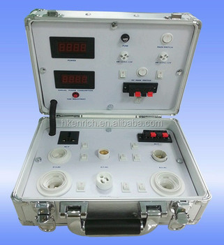 Test Testing led Led Buy portable Demo Voltage Show Factor Case Lamp With Color Box Meter Case White Case Power lK1cTFJ