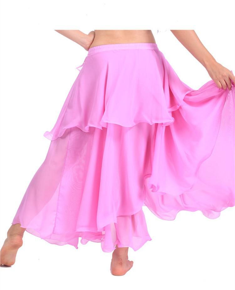 265cf9194b6 Get Quotations · Skirts For Women Summer Style Pleated Chiffon Skirt  Costume Dancewear High Waist Floor Length 5XL Plus