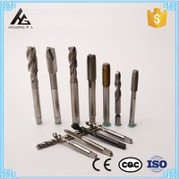 High Speed Steel BSW 1 / 4 Spiral Tap Type Spiral Threading Tool Inch