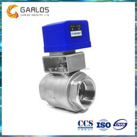1 PC Flow control mini motorized electric ball valve
