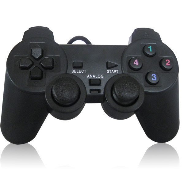 USB PC GamePad Game Controller Joypad With Double Shock Vibration Joystick for Computer Laptop PC Game Pad Control