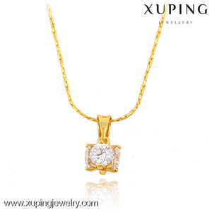 32418 xuping imition jewels special design zirconia pendant for ladies