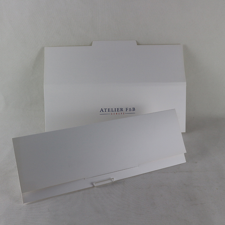 Custom size made Art paper envelope with string tie for bracelet