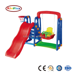 2018 Kinplay Brand Small Size Children Outdoor Plastic Slide with CE,TUV,SGS,ISO9001 Certification