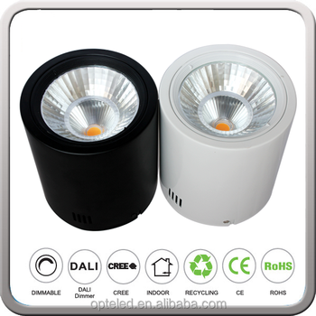Cylinder Shape Down Light Surface Mounted Led Downlight Corridor ...