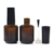 Cheap and Fine 5ml 7ml 10ml 11ml 13ml 14ml 17ml clear amber black empty nail polish bottle with brush