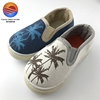 Popular High Quality Canvas Upper Slip-on Fashional Kid's Shoes