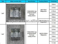 Floor conduit box/metal junction box ip65/outlet box