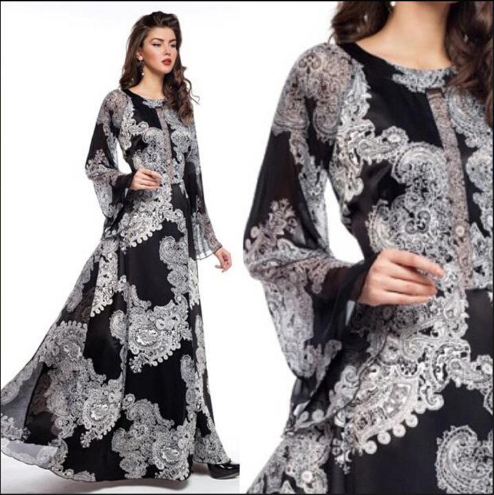 105baaa088892 China Chiffon Sleeved Dress, China Chiffon Sleeved Dress Manufacturers and  Suppliers on Alibaba.com