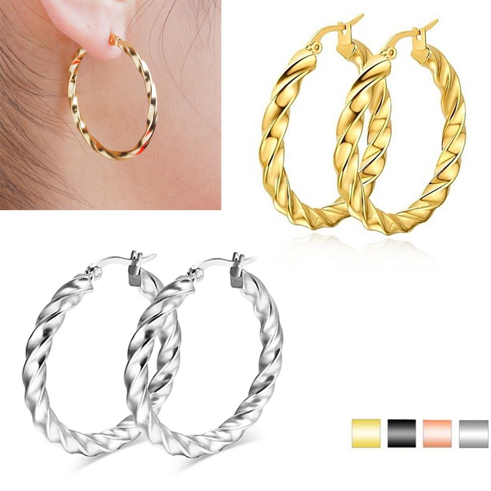 e97834c2c New Fashion Cheap Best Place To Buy Earrings Online Hoop Earrings Stainless  Steel