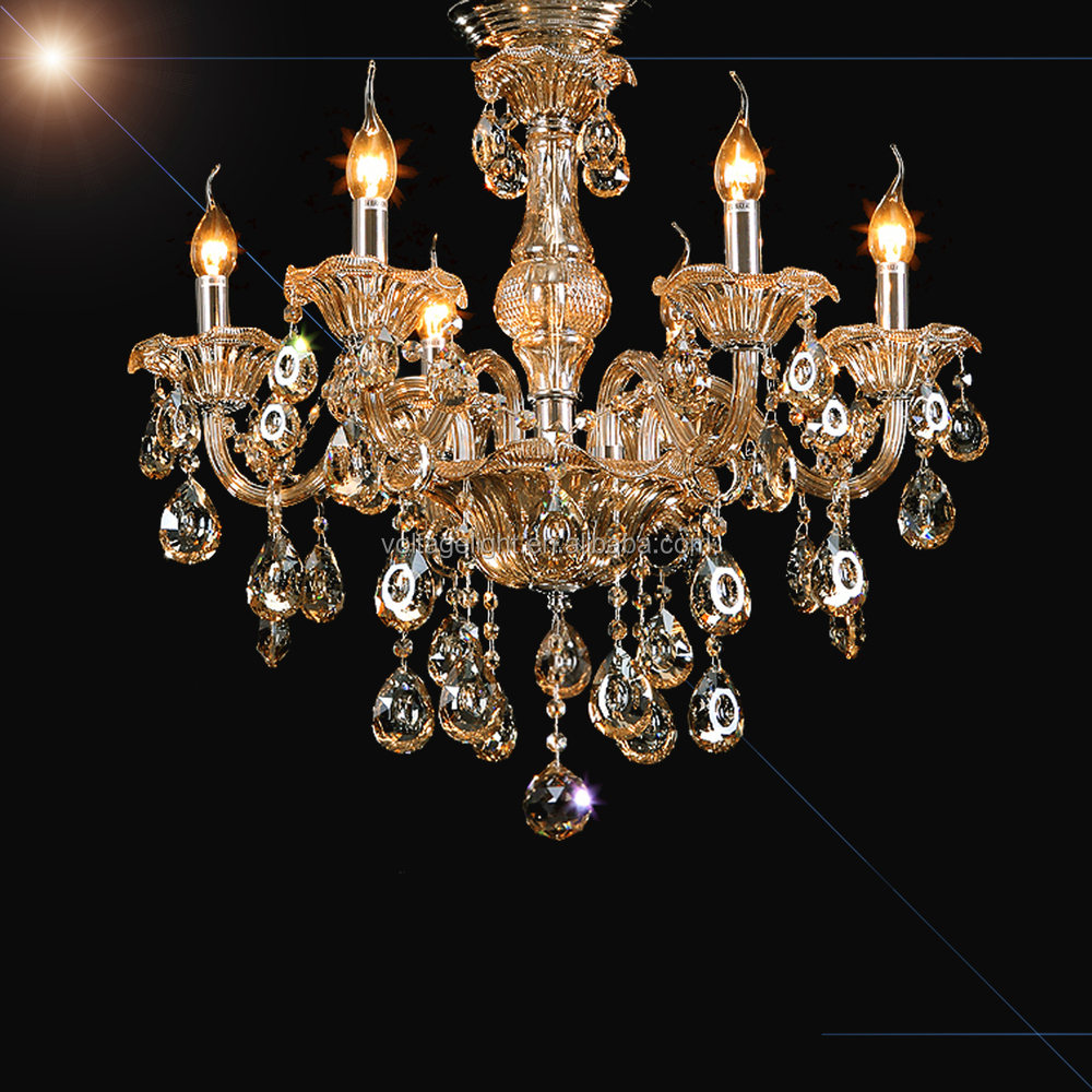 Modern italian crystal chandeliers classic modern clearamber modern italian crystal chandeliers classic modern clearambersmoke stained glass candle crystal chandelier aloadofball Gallery