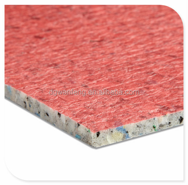 Plain Style Carpet Underlay 11mm 120kg with pe film