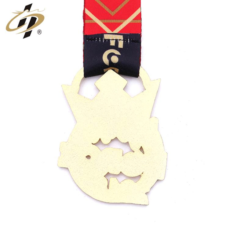 Factory Made Cheap dance blank medal enamel glitter color add Crystal medal