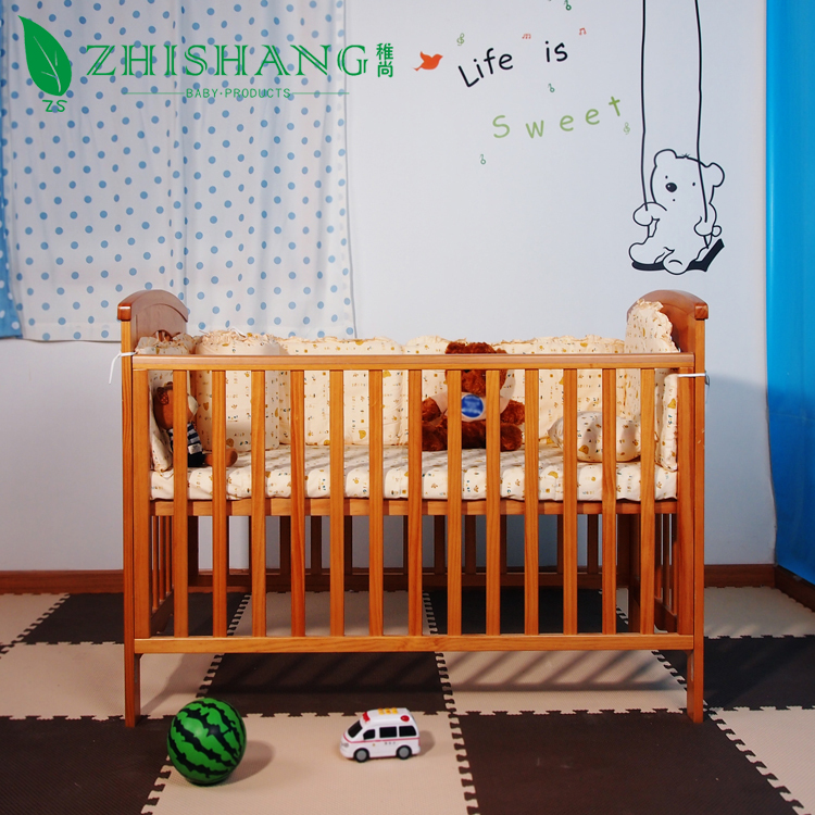 side bed baby crib