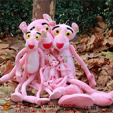 Stuffed Plush Pink Panther cuddly doll new design cheap toys for kids