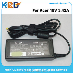 For Acer laptop charger 65W Liteon 19V 3.42A power adapter