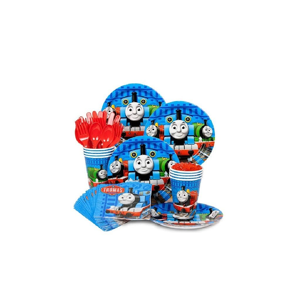 Thomas The Train Tank Engine Party Supplies Kit For 16