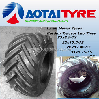 High Quality Lawn Mover Garden Tractor Tire R1 23x10 5 12