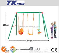 CE certificated multiple set outdoor children kids swing