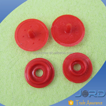 factory wholesale low price custom size Style and Washable Feature Plastic Snap Button