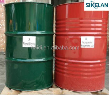 Combine Polyether Polyol And Polymeric Mdi For