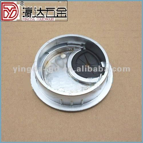 GB zinc alloy wire box for desk / line hole cover for computer/telephone wire cover