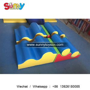 Hospital kids play area sport training soft play set