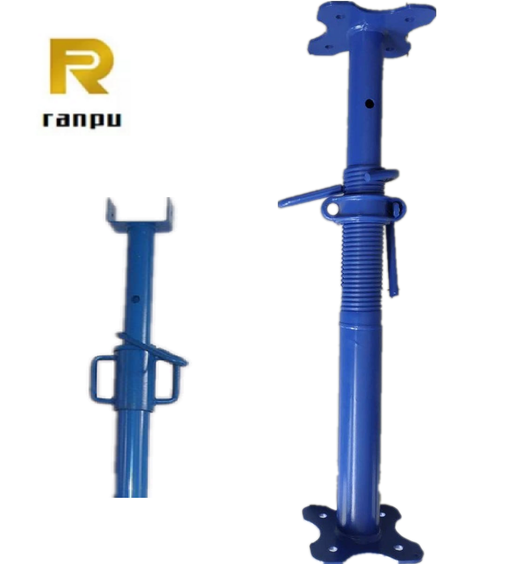 Scaffolding Parts Adjustable Steel Props Vertical Pipe Support - Buy  Scaffolding Accessories,Props Metal For Construction,Iron Props For  Construction