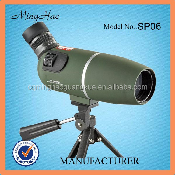 Minghao sporting /birding watching 22-65x50 Spotting Scope