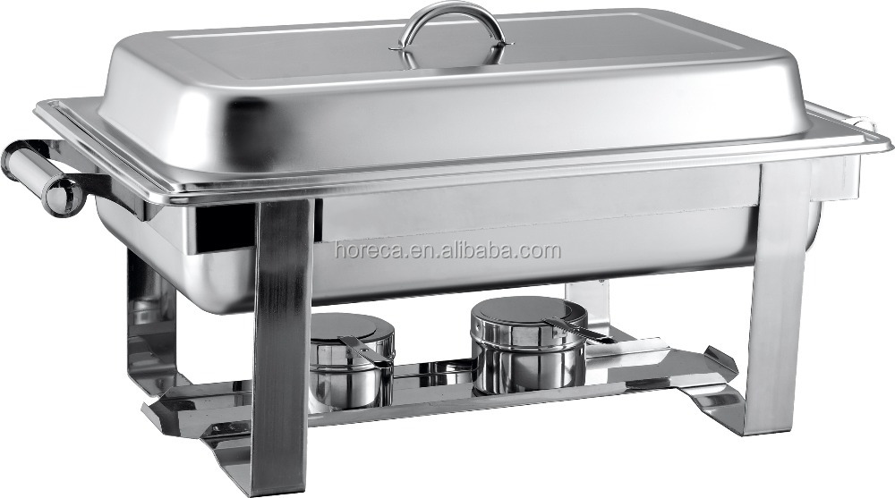 Stainless steel chafing dish cheap buffet server food warmer