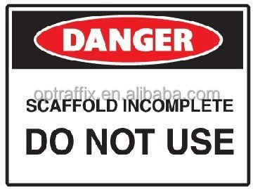 PP Safety Signs Danger Sign Worker In Confined Space Entry By Permit Only