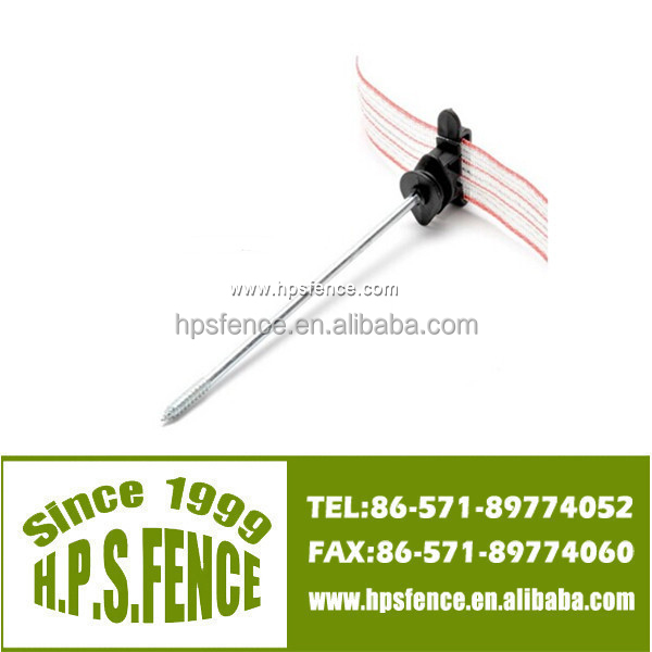 Offset Screw-in Poly Tape / Wire / Ribbon Insulators for Electric Fence